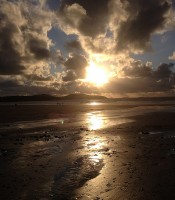 Whitesands, Pembrokeshire Sunset